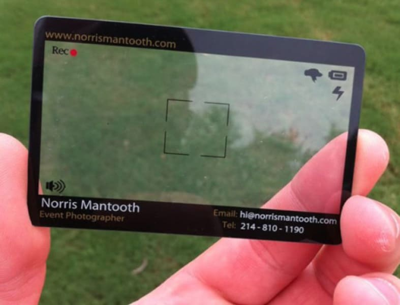 Crazy-Designs-for-the-Business-Cards-The-Event-Photographer's-Viewfinder-Business-Card
